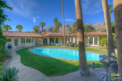 Palm Springs Single Family Home For Sale: 354 W Stevens Road