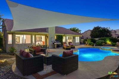 Rancho Mirage Single Family Home Sold: 70745 Ironwood Drive
