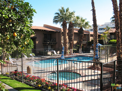 Palm Springs CA Condo/Townhouse Contingent: $210,000