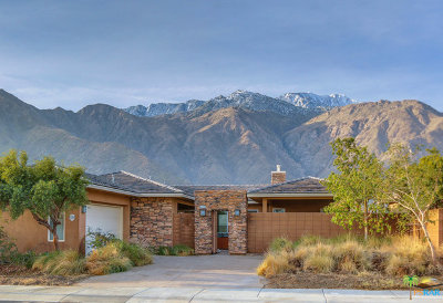 Palm Springs Single Family Home Contingent: 60199 Range View Drive
