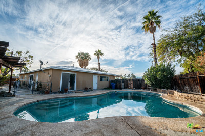 Palm Springs Single Family Home Contingent: 1188 E Duro Circle