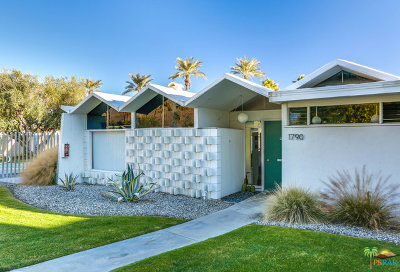 Palm Springs Condo/Townhouse For Sale: 1790 S Araby Drive