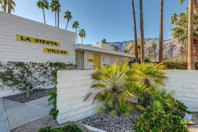 Palm Springs Condo/Townhouse Contingent: 247 W Stevens Road #8