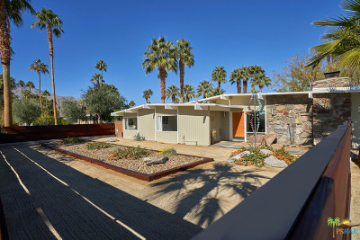 Palm Springs CA Single Family Home For Sale: $1,279,000