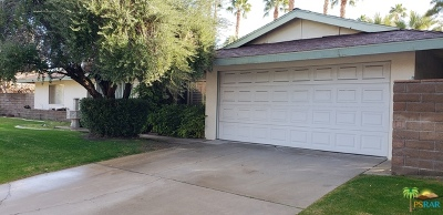 Palm Springs CA Single Family Home Contingent: $499,000