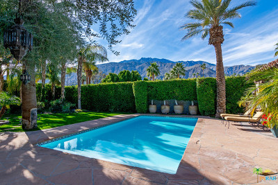 Palm Springs Single Family Home For Sale: 913 E Mel Avenue