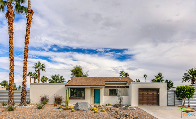 Palm Springs Single Family Home Contingent: 2548 N Aurora Drive