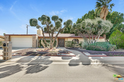 Palm Springs Single Family Home Contingent: 2841 E Vincentia Road