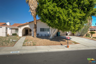 Cathedral City Single Family Home Contingent: 67750 Garbino Road