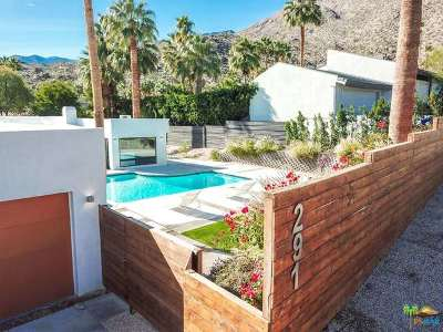 Palm Springs Single Family Home For Sale: 291 W Overlook Road