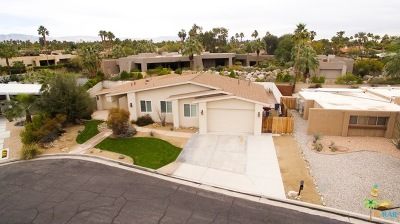 Rancho Mirage Single Family Home Contingent: 36422 Sandsal Circle