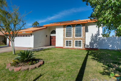 Cathedral City Single Family Home Contingent: 68460 Concepcion Road