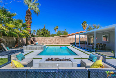 Palm Springs Single Family Home For Sale: 745 El Placer Road