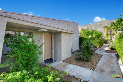 Palm Springs Single Family Home For Sale: 1111 E Ramon Road #70