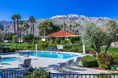 Palm Springs Condo/Townhouse For Sale: 755 N Madrid Circle