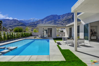 Palm Springs Single Family Home Contingent: 395 E Bogert