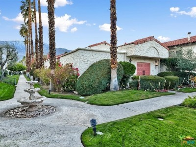 Palm Springs Condo/Townhouse For Sale: 1833 S Araby Drive #31
