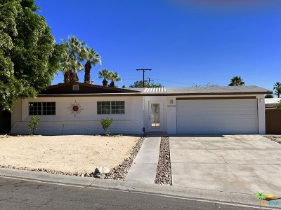 Palm Desert Single Family Home Contingent: 42740 Timothy Circle