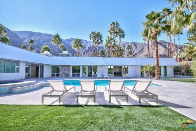 Palm Springs Single Family Home For Sale: 670 N Rose Avenue
