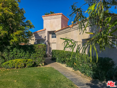 Cathedral City Single Family Home Contingent: 29986 W Trancas Drive