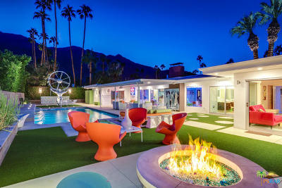 Palm Springs Single Family Home For Sale: 611 W Leisure Way
