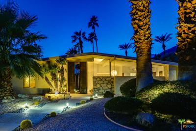 Palm Springs Single Family Home For Sale: 2455 S Via Lazo