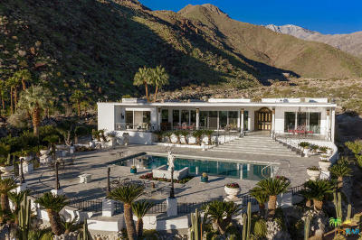 Palm Springs Single Family Home For Sale: 1090 W Cielo Drive