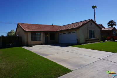 Indio Single Family Home For Sale: 47600 Sunflower Street
