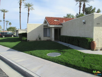 Palm Desert Condo/Townhouse For Sale: 74193 Santa Rosa Circle