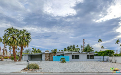Palm Springs Single Family Home For Sale: 502 S Compadre Road
