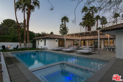 Palm Springs Single Family Home For Sale: 505 N Camino Real