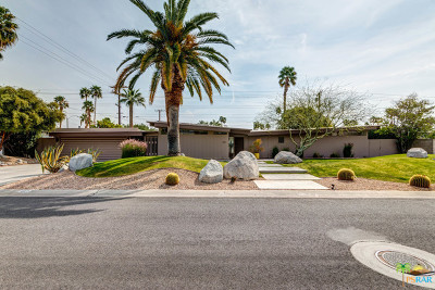 Palm Springs Single Family Home For Sale: 480 N Monterey Road