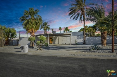 Palm Springs Single Family Home For Sale: 3585 E Camino Rojos