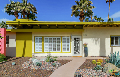 Palm Springs CA Single Family Home For Sale: $739,000