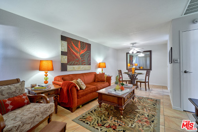 Palm Springs CA Condo/Townhouse For Sale: $110,000