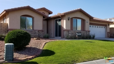 Indio Single Family Home For Sale: 41595 Ashford Place