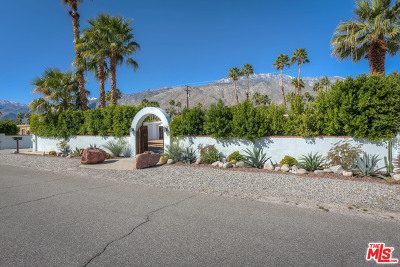 Palm Springs Single Family Home For Sale: 1179 N Calle Rolph
