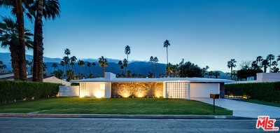 Palm Springs Single Family Home For Sale: 1319 S Calle Marcus