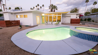 Palm Springs Single Family Home Contingent: 1245 S Sunrise Way