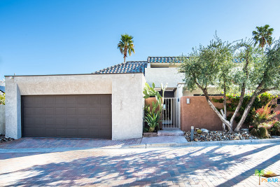 Palm Springs Condo/Townhouse For Sale: 2530 W La Condesa Drive