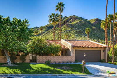 Palm Springs Condo/Townhouse For Sale: 1583 Redford Drive #A
