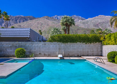 Palm Springs Single Family Home For Sale: 1250 E Marion Way