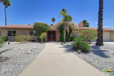 Palm Springs Single Family Home For Sale: 1040 N Cerritos Drive
