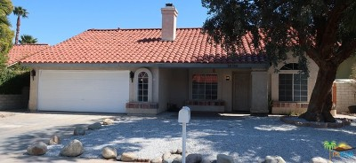 Cathedral City Single Family Home Contingent: 28760 Avenida Duquesa
