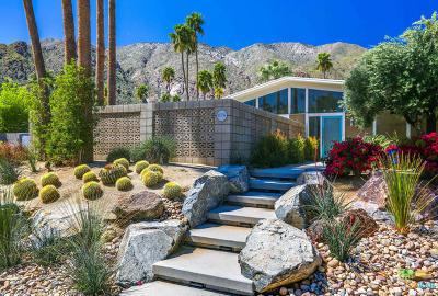 Palm Springs Single Family Home For Sale: 879 N Via Monte Vista Vista