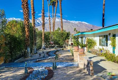 Palm Springs Single Family Home For Sale: 695 S Highland Drive