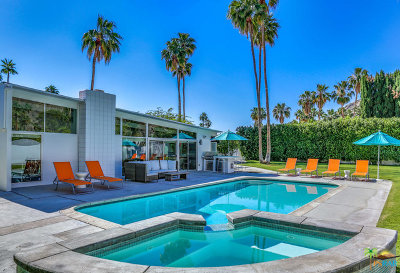 Palm Springs Single Family Home For Sale: 969 N Tuxedo Circle
