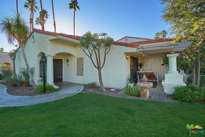 Palm Springs Condo/Townhouse Contingent: 505 S Farrell Drive #S115