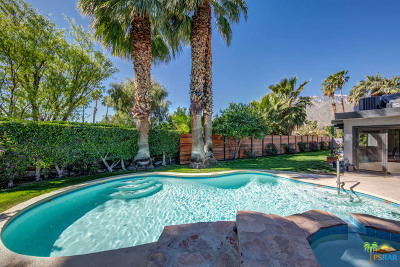 Palm Springs Single Family Home For Sale: 1125 E Louise Drive