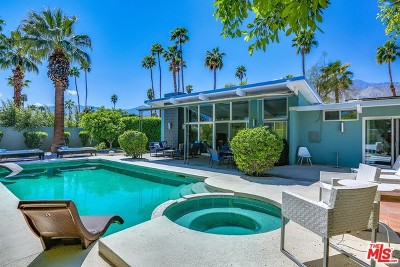Palm Springs Single Family Home For Sale: 292 N Monterey Road
